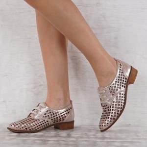 női cipő valódi bőr  VISINI 5592