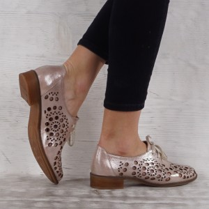 Női cipő valódi bőr  VISINI 6896