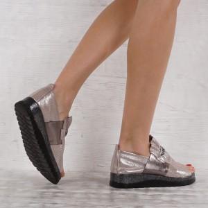 női cipő valódi bőr VISINI 7055