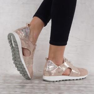 női bőr cipő VISINI 4538