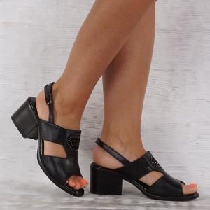 Női cipő valódi bőr 7006
