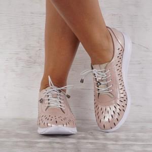 női cipő valódi bőr 7603