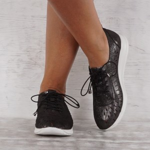 női cipő valódi bőr VISINI 7604