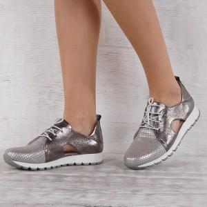 női cipő valódi bőr VISINI 4537