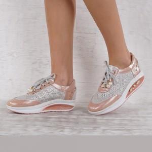 női cipő valódi bőr 4543