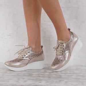 Дамски Обувки естествена кожа GS 6945