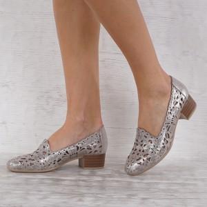 Női cipő valódi bőr  VISINI 7013