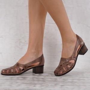 női cipő valódi bőr GS 7092