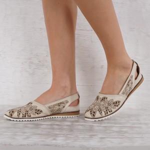 Női cipő valódi bőr GS 7101