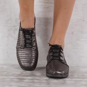 női cipő valódi bőr GS 7115
