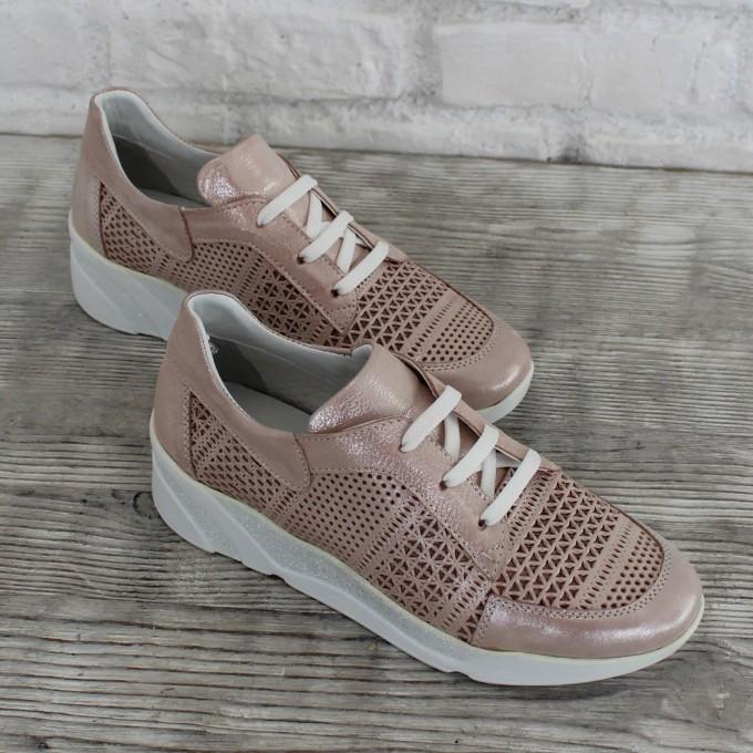 Női bőr cipő VISINI 7706