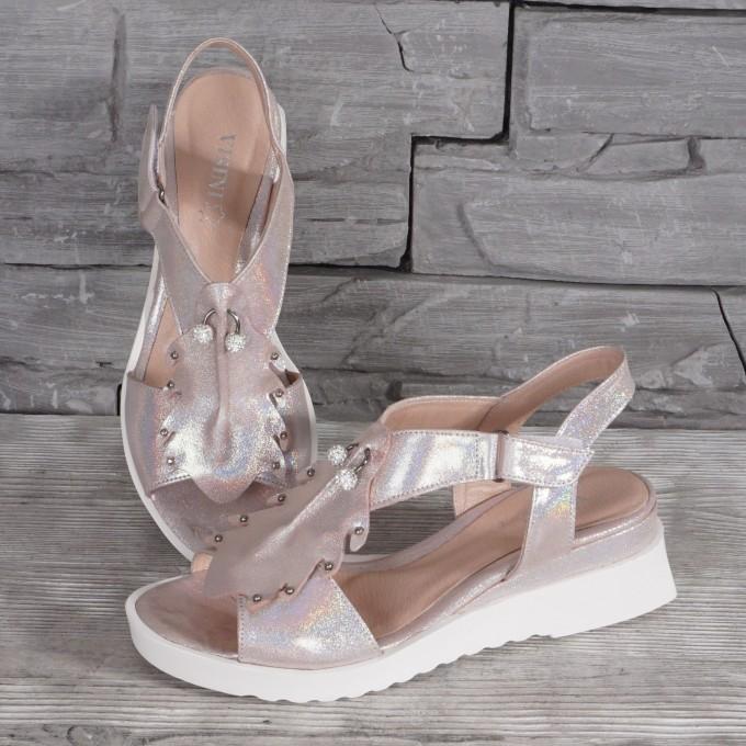 Női bőr cipő VISINI 8178