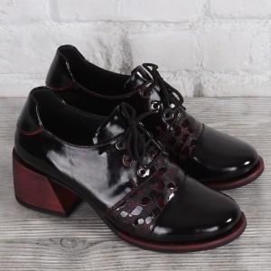 Női bőr cipő VISINI 8180