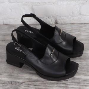 Női bőr cipő VISINI 8181