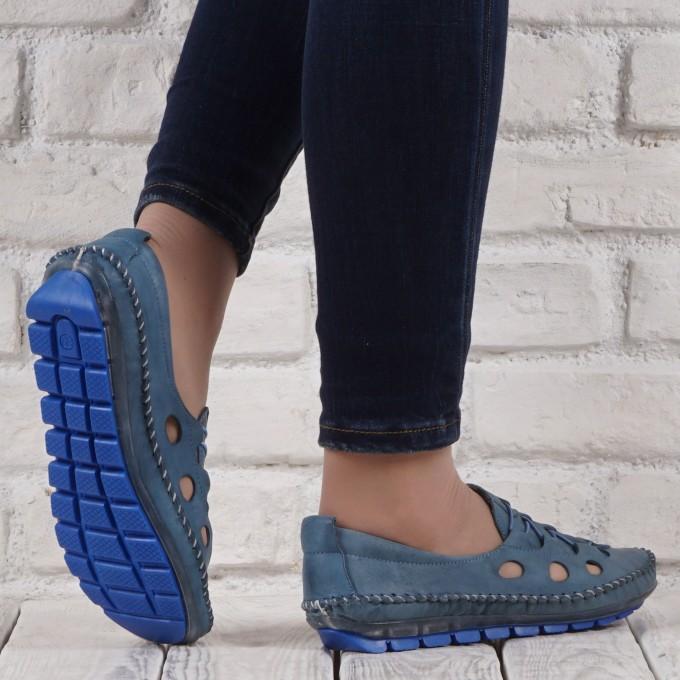 Női bőr cipő GS 1458