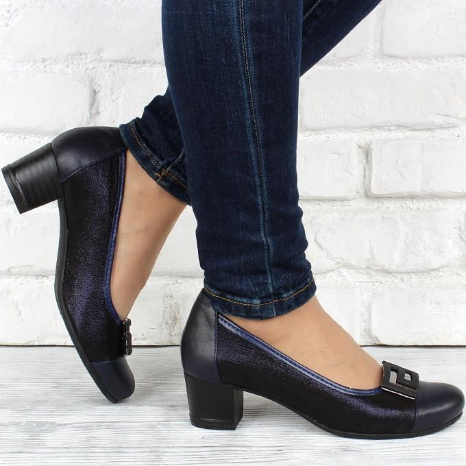 Női bőr cipő VISINI 3797