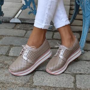 Női bőr cipő VISINI 4208