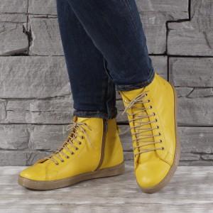Női bőr cipők  VISINI 4522