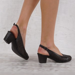 női cipő valódi bőr 5478
