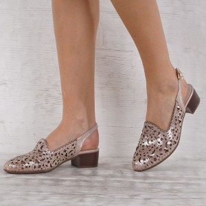 Női cipő valódi bőr 5633