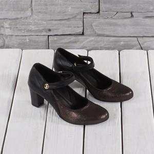 Női bőr cipő VISINI 6022