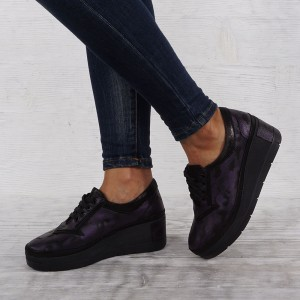 Női cipő valódi bőr 6035