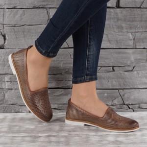 női cipő valódi bőr 6901