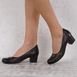 Női bőr cipő VISINI 6948