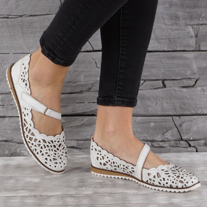 Női bőr cipő GS 7104