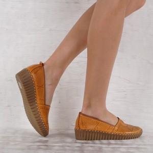 Női bőr cipő GS 7163