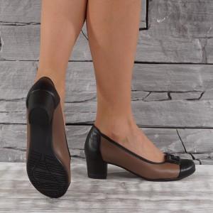 Női bőr cipő VISINI 7324