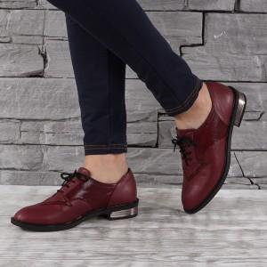 Női bőr cipő VISINI 7328