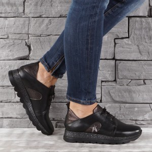 Női bőr cipő VISINI 7331