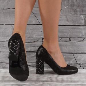 Női bőr cipő VISINI 7463