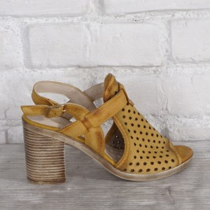 Női bőr cipő VISINI 7814