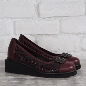 Női bőr cipő VISINI 7825