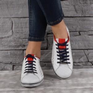 Női bőr cipők VISINI 7839