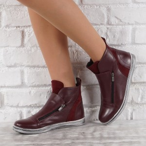 Női bőr cipők  VISINI 7860