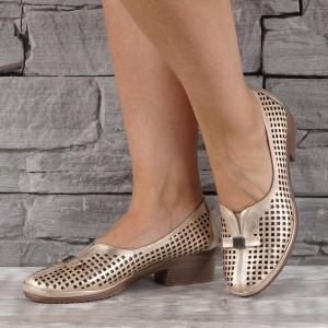 Női bőr cipő VISINI 7894