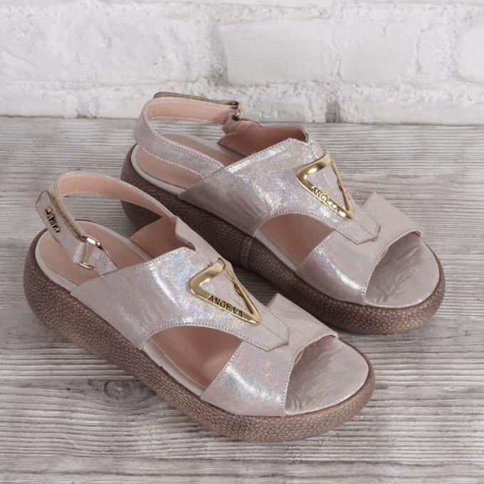 Női bőr cipő VISINI 7932