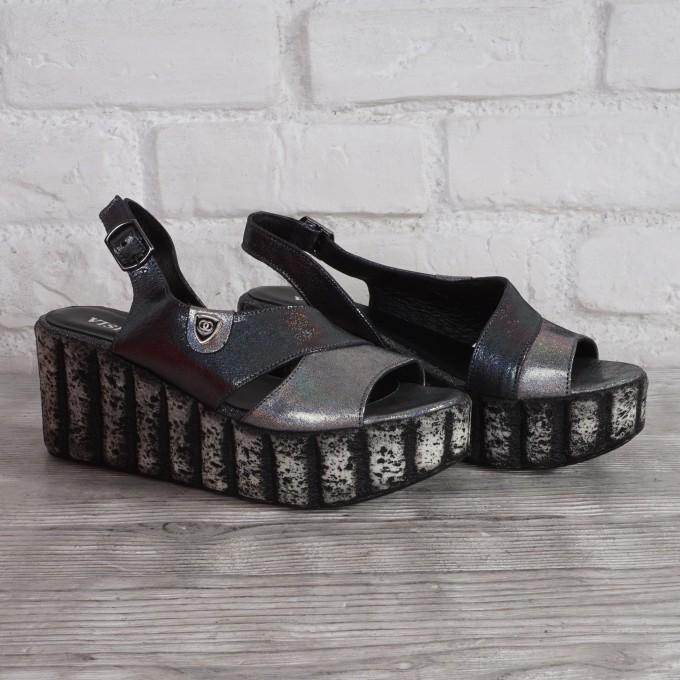 Női bőr cipő VISINI 7933