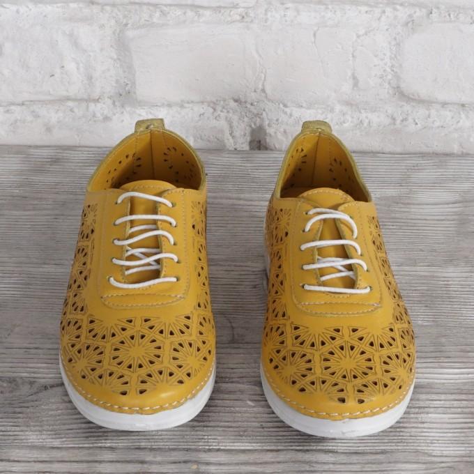 Női bőr cipő DALIS  8188