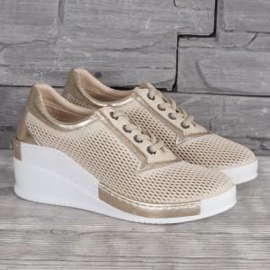 Női bőr cipő VISINI 8189