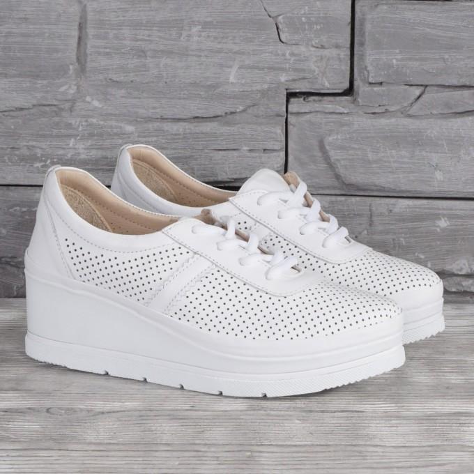 Női bőr cipő VISINI 8191