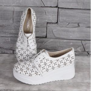Női bőr cipő VISINI 8206