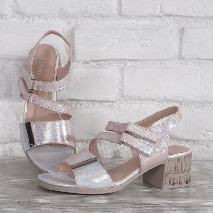 Női bőr cipő VISINI 8240