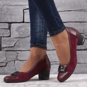 női cipő valódi bőr VISINI 1341