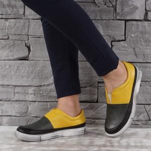 Női bőr cipők  VISINI 3936