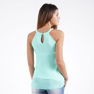 Ladies sleeveless blouse 4257