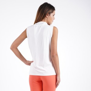 Ladies sleeveless blouse 4261